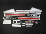 75 RUPP Nitro F/C 440 Decal Kit