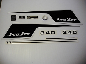75 SNO*JET SST F/C 340 Decal Kit