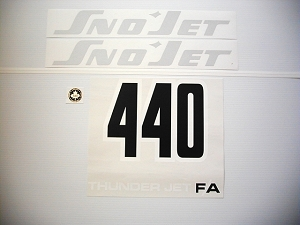 75 SNO*JET Thunderjet 440 F/A Decal Kit