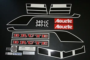 76 Alouette Brute 340 Decal Kit