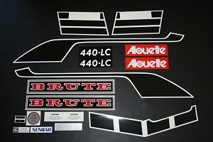 76 Alouette Brute 440 Decal Kit