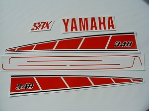 76 YAMAHA SRX 340 Sno Pro - CDN Decal Kit
