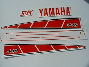 76 YAMAHA SRX 440 Sno Pro - CDN Decal Kit