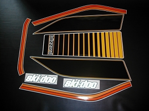 77 Ski Doo Blizzard SnoPro Decal Kit