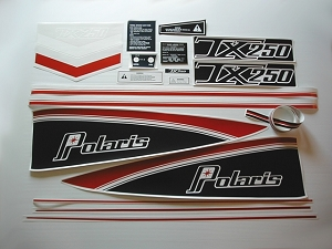 77 Polaris 250 TX Decal Kit