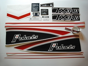 77 Polaris 340 TX Decal Kit