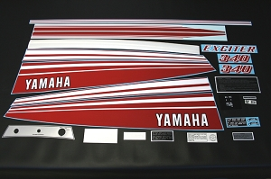 78 YAMAHA Exciter 340 Decal Kit