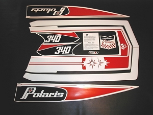 78 Polaris RXL Decal Kit