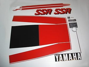 78 YAMAHA SSR Decal Kit