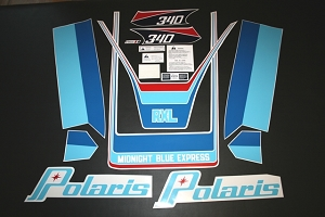 79 Polaris RXL Decal Kit