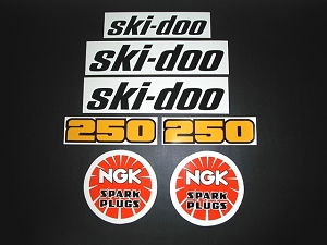 79 Ski Doo SnoPro 250 Decal Kit