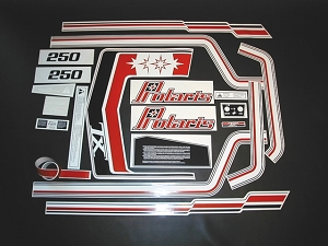 79 Polaris TX 250 Decal Kit