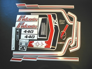 79 Polaris TX 440 Decal Kit