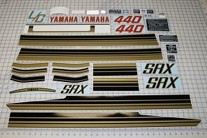 80 YAMAHA SRX 440 Decal Kit