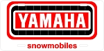 Yamaha Track Logo Vintage Snowmobile License Plate