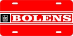 Bolens Logo Vintage Snowmobile License Plate