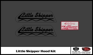 1971 Little Skipper Hood Decal Kit