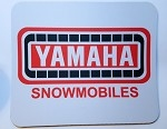 Vintage Yamaha Snowmobiles Full Color Mouse Pad