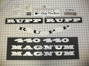 76 RUPP Magnum 440 Decal Kit