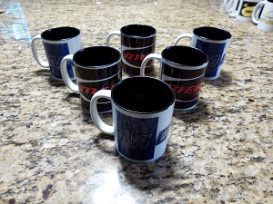 Clearance Less-Than-Perfect Mercury Mug Collection - Set 2