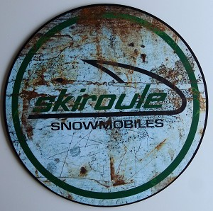 "Skiroule Composite 23.5"" Shop Sign"