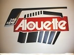 73 Alouette Super 340 Decal Kit
